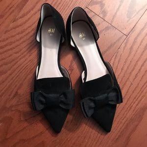 Black H&M Flats